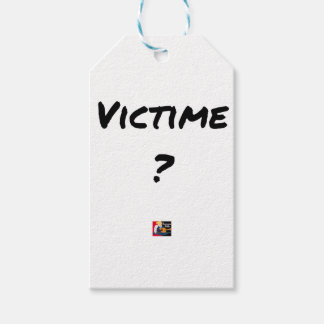 VICTIM? - Word games - François City Gift Tags