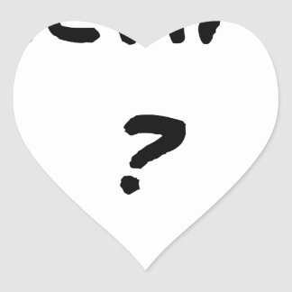 VICTIM? - Word games - François City Heart Sticker