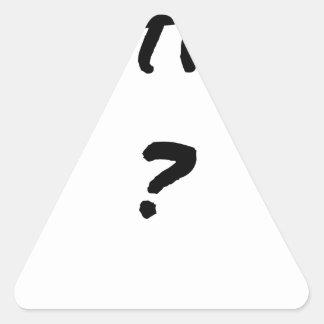 VICTIM? - Word games - François City Triangle Sticker