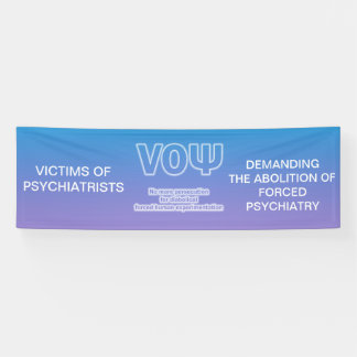 Victims of Psychiatrists banner #2