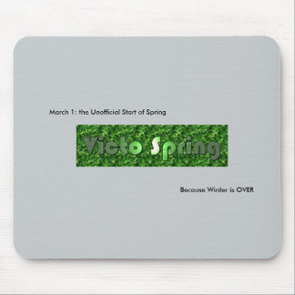 Victo Spring Mouse Pad