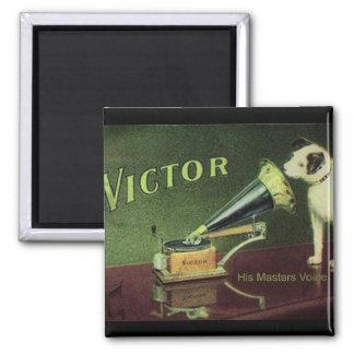 Victor 1899 square magnet