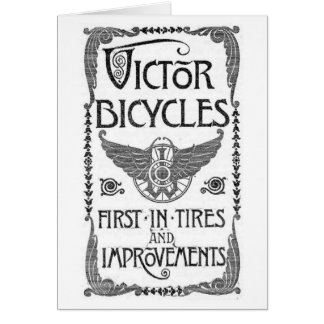 Victor Bicycles Card Come Ride With Me...