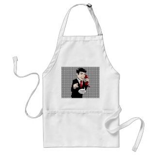 Victor Crushmore Means Business Apron