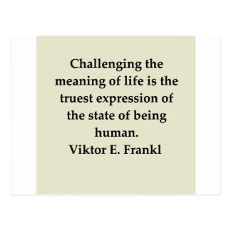 victor frankl quote postcard