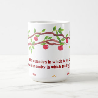 Victor Hugo garden quote Coffee Mug