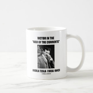 "Victor In the ""War Of The Currents"" Mug"