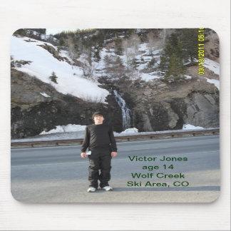 Victor Jones at Wolf Creek Ski Area CO Mousepads