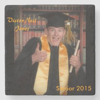 Victor Jones graduation 2015 Stone Coaster