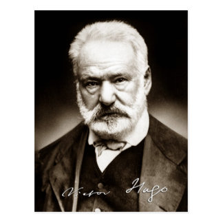 Victor Marie Hugo - Portrait Postcard
