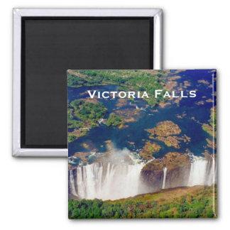 victoria aerial falls magnet