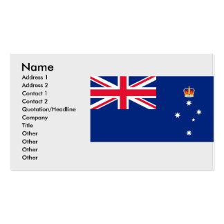 Victoria Australia, Australia Business Card Templates