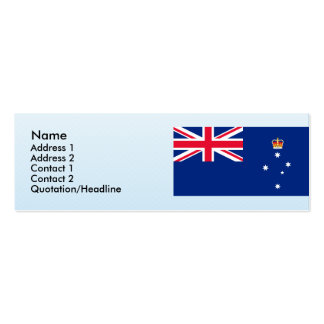 Victoria Australia, Australia Business Card