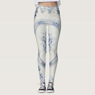 Victoria Blue Leggings