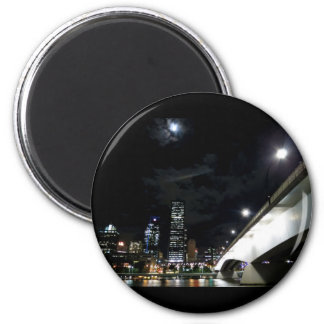 Victoria Bridge in Brisbane 6 Cm Round Magnet
