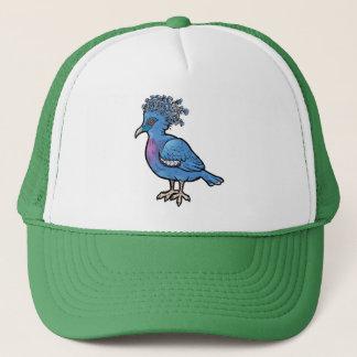 Victoria Crowned Pigeon Trucker Hat