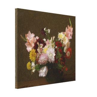 Victoria Dubourg Vintage Flowers Canvas Print