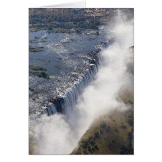 Victoria Falls, Zambesi River, Zambia - Greeting Card