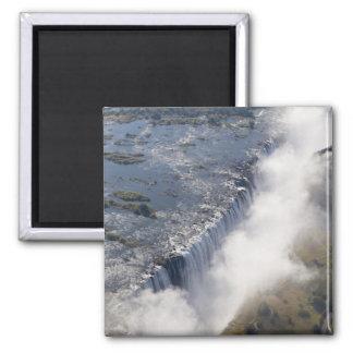 Victoria Falls, Zambesi River, Zambia - Square Magnet