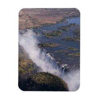 Victoria Falls, Zambesi River, Zambia - Zimbabwe Rectangular Photo Magnet