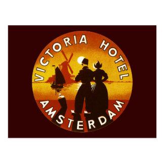 Victoria Hotel Amsterdam Postcard