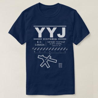 Victoria International Airport YYJ Tee Shirt: