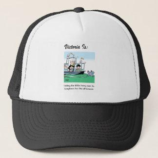 Victoria Is: c - by harrop Trucker Hat
