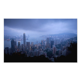 Victoria Peak, Hong Kong. Photo