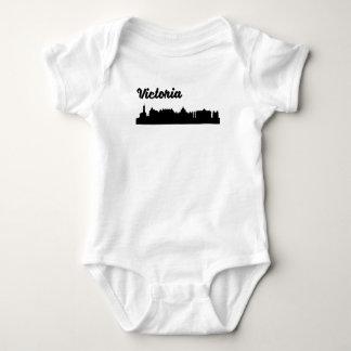 Victoria Skyline Baby Bodysuit