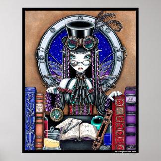 Victoria Steam Punk Faerie Poster