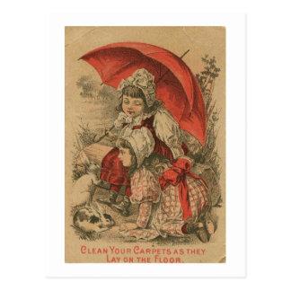 Victorian Adverstisement Postcard
