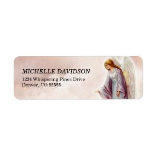 Victorian Angel  Return Address Labels