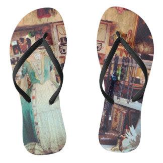 Victorian Antique Flip Flops