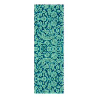 Victorian Arabesque, CANTARA in Teal & Aqua Pack Of Skinny Business Cards