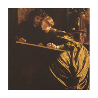 Victorian Art, Painter's Honeymoon by Leighton Wood Canvases