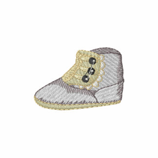 Victorian Baby Shoe Embroidered Hoody