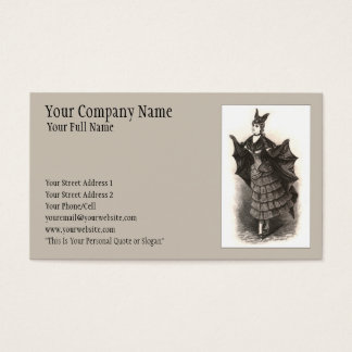 Victorian Bat - Business Card