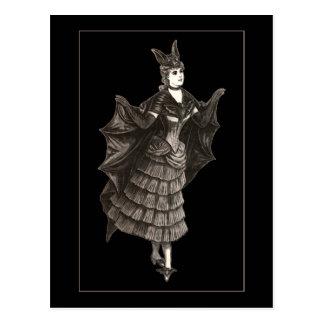 Victorian Bat - Postcard #2