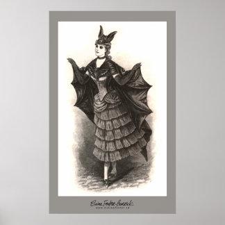 Victorian Bat - Print #1