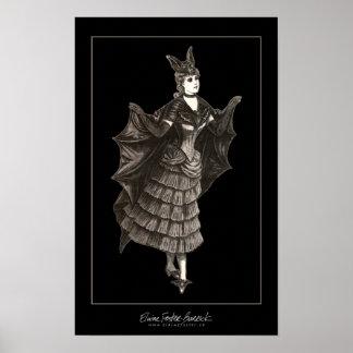 Victorian Bat - Print #2