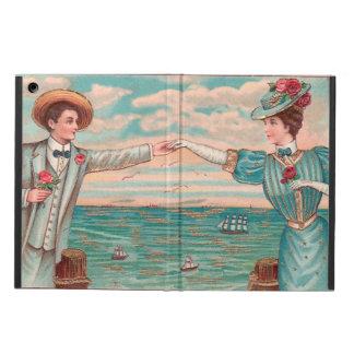 Victorian Beach Wedding Couple Case For iPad Air