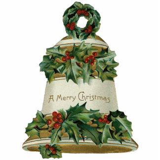 Victorian Bell Christmas Ornament Photo Sculpture Decoration