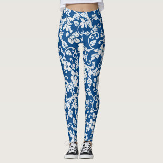 Victorian Blues Leggings