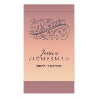 Victorian Blush Business Card