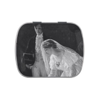 Victorian Bride Jelly Belly Candy Tins