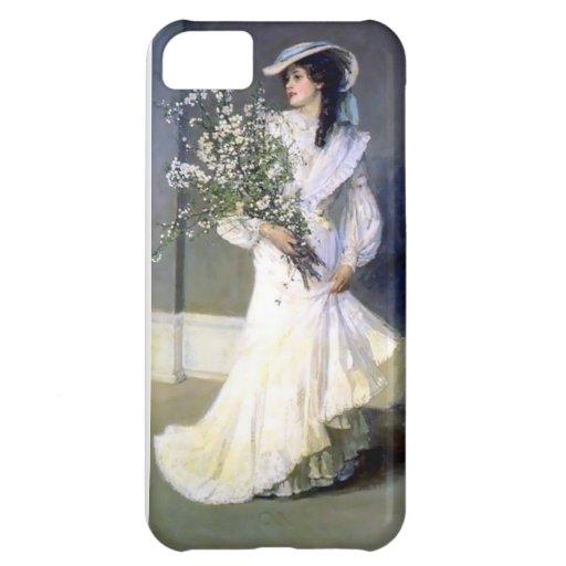 Victorian bride wedding fashion case for iPhone 5C