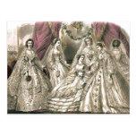 Victorian Brides Postcard