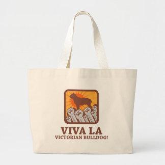 Victorian Bulldog Canvas Bags