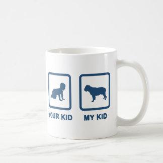 Victorian Bulldog Coffee Mug