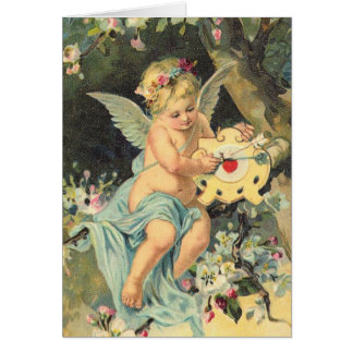 Victorian Cherub Note Cards